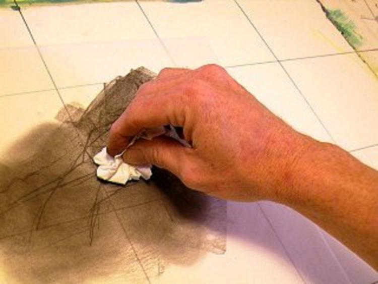 Техника рисования с калькой - шаг 7
