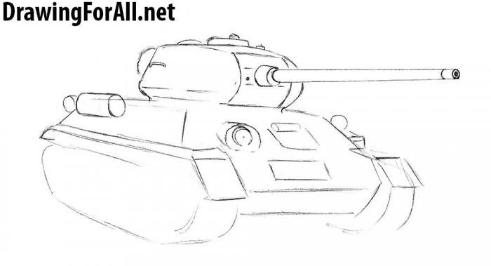 Как нарисовать брони транспортер фольксваген транспортер т4 пороги трубы