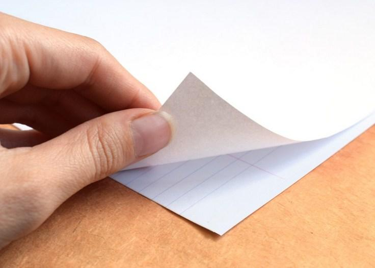 используйте разлинованную бумагу