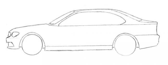 Рисование машины шаг5