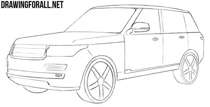 как рисовать машины лучший пошаговый урок