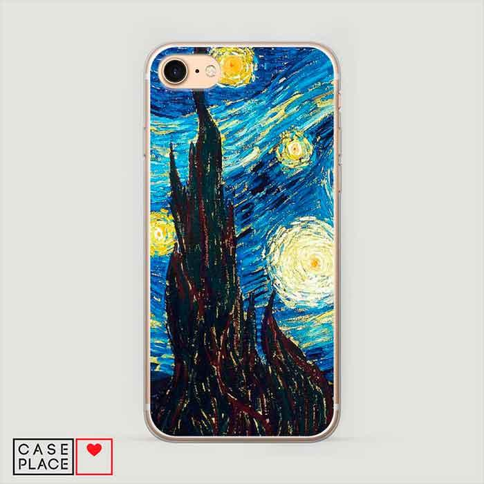 Чехол Ван Гог звездная ночь