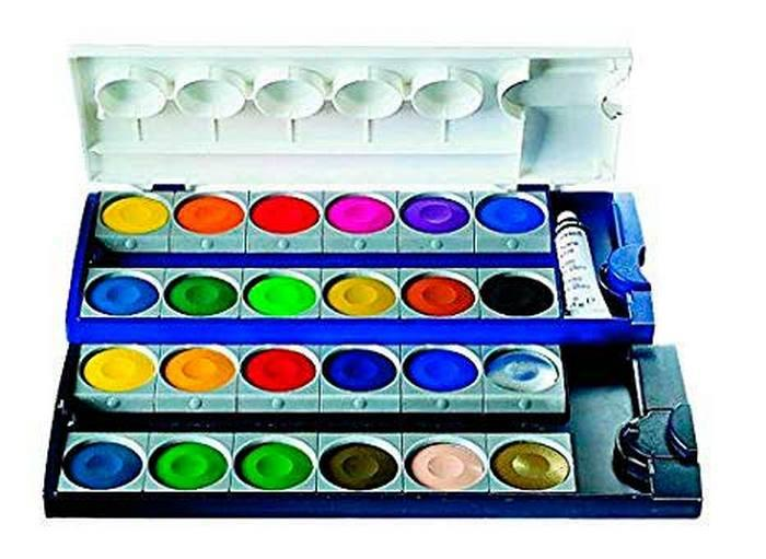 Pelikan Watercolour and Gouache Pan Sets