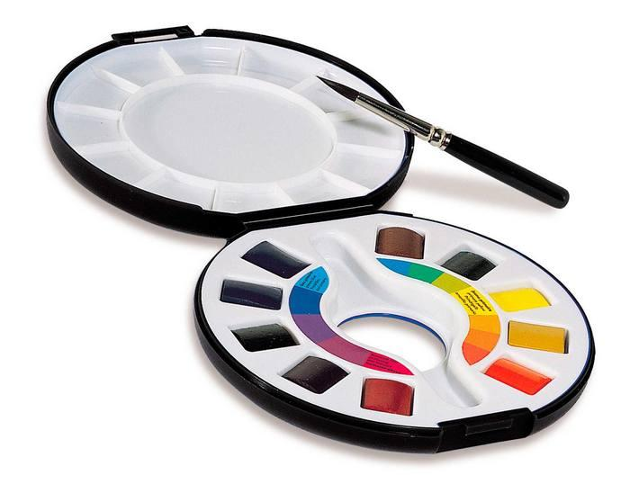 Raphal Watercolour Travel Pan Set