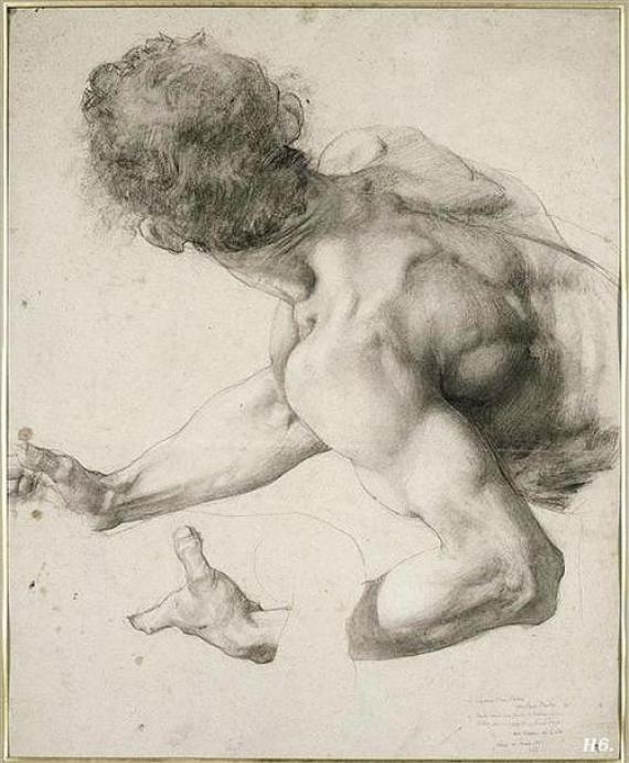С чего начать рисование фигуры человека?
